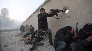 Bürgerkrieg in Syrien geht unvermindert weiter