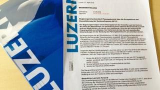 Luzerner Schuldenbremse soll gelöst werden