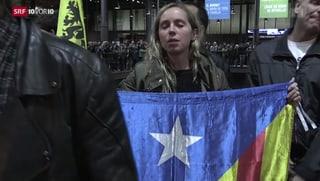 Katalonien: Wer abstimmte, ist für die Unabhängigkeit