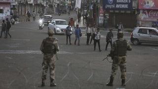 Indien hebt Sonderstatus für Kaschmir auf