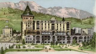 120 onns Badrutt's Palace Hotel a San Murezzan