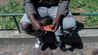Asylbewerber: Untertauchen und weg
