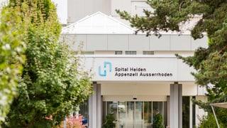 Vertrag zwischen Hirslanden und Spital Heiden nicht öffentlich
