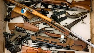 Schusswaffen sollen nachregistriert werden