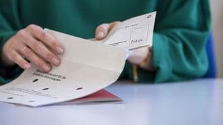 Gemeinde passt die Stimmkuverts an (Artikel enthält Audio)