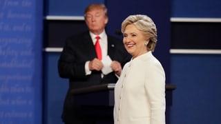Hillary Clinton hält Trump für einen «Widerling»