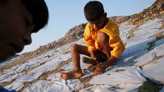 Kinderarbeit für Schweizer Ladenketten