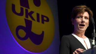 Ukip-Chefin gibt schon auf – springt Farage in die Bresche?