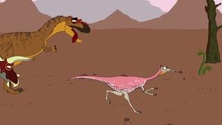 Video «Ralph und die Dinosaurier: Pelecanimimus (16/26)» abspielen