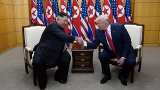Nur ein paar Schritte – aber ein Meilenstein. Die Analyse zum dritten Treffen zwischen Trump und Kim.