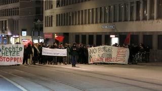 Protest und Freude nach dem Ja zur Einwanderungs-Initiative