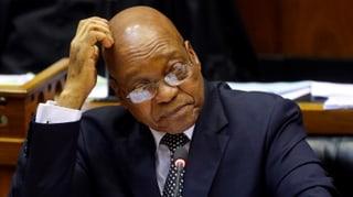 «Die Tage des südafrikanischen Präsidenten sind gezählt»