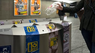 Swiss Recycling wehrt sich gegen Flaschenpfand