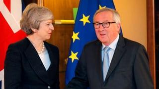 May und Juncker einigen sich in der Backstop-Frage