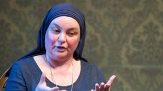 Schwester Benedikta ist in die Einsiedelei eingezogen