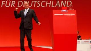 SPD-Parteitag: Genossen «impfen» Steinbrück