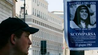 Fall «Emanuela Orlandi» wird ad acta gelegt