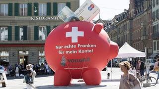 Partidas cunter monopol da la Banca naziunala