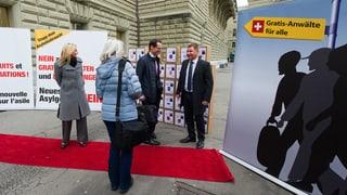SVP ohne grosse Kampagne gegen Asylreform