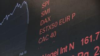 Schweizer Börse auf Erholungskurs