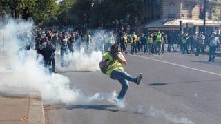 Tausende «Gelbwesten» protestieren – zahlreiche Festnahmen