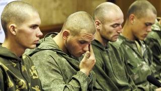 Reger Soldaten-Austausch in der Ostukraine