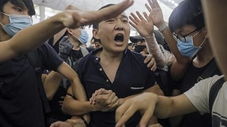 Flughafen Hongkong erwirkt einstweilige Verfügung