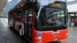 Bus da Cuira ha transportà pli paucs passagiers il 2015