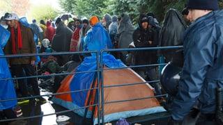 Flüchtlingsansturm: Slowenien will Armee aufbieten