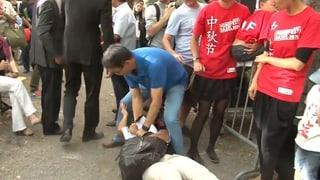 Chinesische Sicherheitskräfte unterbinden Tibet-Protest