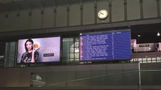 Werbung im Basler Bahnhof: Wessels ignoriert Denkmalgesetz