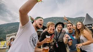 Open Air Gampel: Feiern, bis die Vögel wieder zwitschern