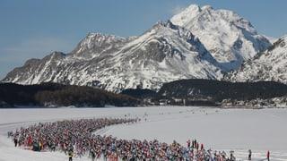 Maraton engiadinais - Bainbaud sin la loipa...