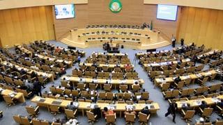 Afrikanische Union fordert Immunität für Politiker