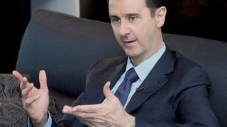 Assad relativiert seine Gesprächsbereitschaft mit den USA