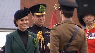 St. Patrick's Day: Schwangere Herzogin Catherine ehrt Soldaten