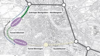 Links-Grün streitet über den Gundelitunnel