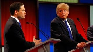 Republikanische Breitseiten gegen Trump