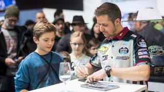 Tom Lüthi turna en Moto 2
