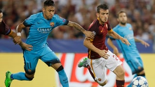 So lief die Partie zwischen der AS Roma und Barcelona