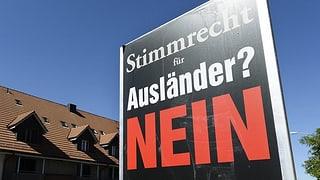 Kantonsrat Schaffhausen sagt Nein zum Ausländerstimmrecht