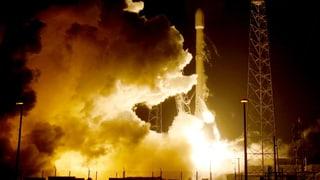 Recycling-Rakete «Falcon 9» kehrt erstmals heil zur Erde zurück