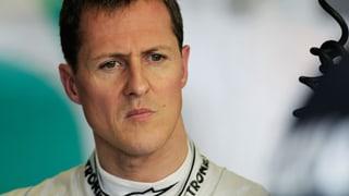 Michael Schumacher wieder zuhause