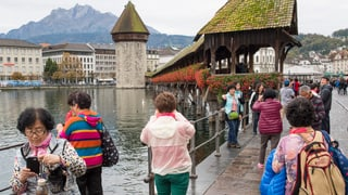 Logiernächte: Rückgang nur minim – dank asiatischer Touristen
