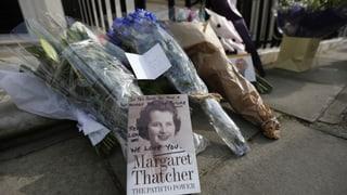 An Thatcher scheiden sich die Geister