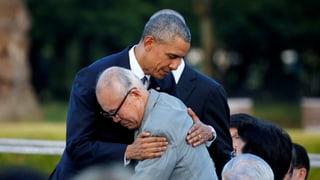 Obama gedenkt der Hiroshima-Opfer