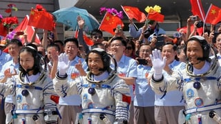 China will die Amerikaner übertrumpfen und als erste Nation die dunkle Seite des Mondes erforschen