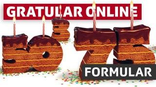 Gratular cun formular online
