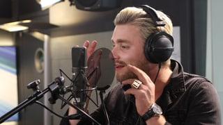 Baschi singt «Oh Wie Schad» live im SRF 3 Studio