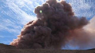 Schwere Erdstösse nach Vulkanausbruch